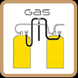 Motorhome and caravan refillable gas systems