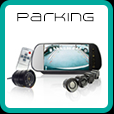 Motorhome reversing cameras and parking sensors